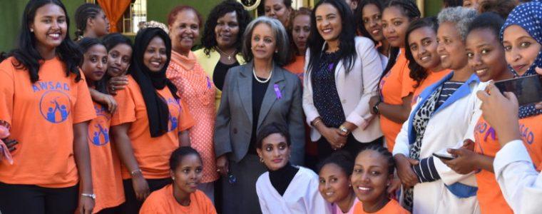 FDRE President HE Sahle-Work Zewde Visits AWSAD