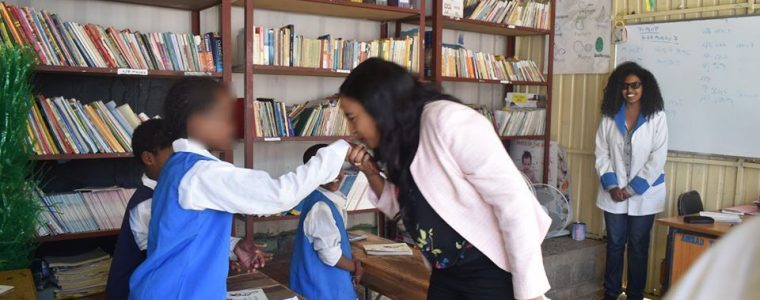 Minister of Women, Children and Youth visits Addis Ababa safe house